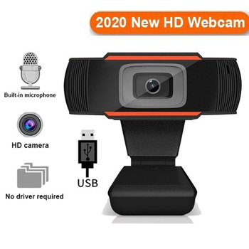 HD 1080p 60fps Webcam PC Mini USB 2.0, Web Kamera S Mikrofónom USB Počítača Kamera Pre Live Streaming Kamera 1080P/480P 184380