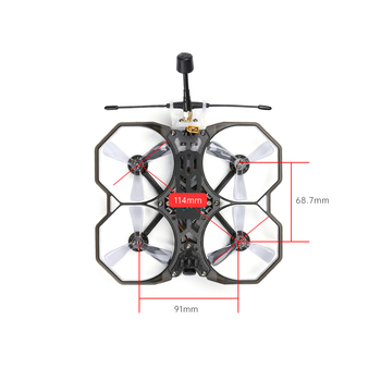 IFlight Protek25 SucceX-D Whoop V3 5.8 G Micro Sily Caddx Turbo Eos XING 1404 5500KV 4S 114mm 2,5 palca FPV Cinewhoop Ducted Drone 38166