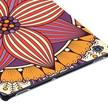 Mandala Slim Tablet Cover obal pre Samsung Galaxy Tab A A6 7 9.7 10.1 10.5/na Karte E/S5E Anti-drop Akvarel Hard Shell Prípad Tabletu 82026